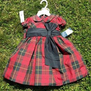 Ralph Lauren red / black plaid holiday dress